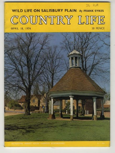 1974 COUNTRY LIFE MAGAZINE 18 April HARROLD Halford Hewitt CAPTAIN COOK Maxstoke Castle